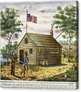 Presidential Campaign, 1840 Acrylic Print
