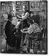 Presidential Campaign, 1884 Acrylic Print