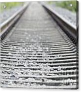 Railroad Tracks Acrylic Print