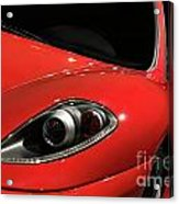 Red Ferrari F430 Scuderia Acrylic Print