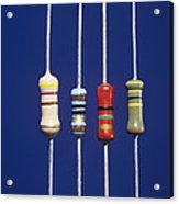 Resistors Acrylic Print