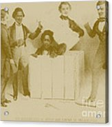 Resurrection Of Henry Box Brown Acrylic Print by Photo Researchers