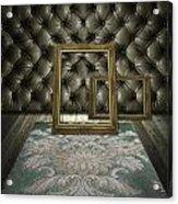 Retro Room Interior Acrylic Print