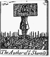Richard Steele (1672-1729) Acrylic Print