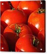 Ripe Tomatoes Acrylic Print