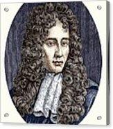 Robert Boyle, Irish Chemist Acrylic Print
