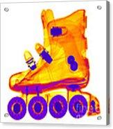 Rollerblade Boot Acrylic Print