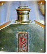 Rolls-royce Hood Ornament Acrylic Print