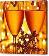 Romantic Holiday Celebration Acrylic Print