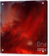 Rosy Sky Acrylic Print