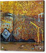 Rust Colors Acrylic Print
