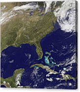 Satellite View Of The United States Acrylic Print