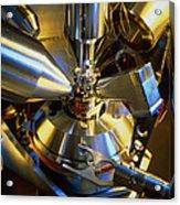 Scanning Electron Microscope Acrylic Print