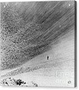 Sedan Crater, Nevada Test Site Acrylic Print