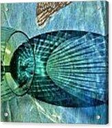 Shadow Of Wine Glass Acrylic Print