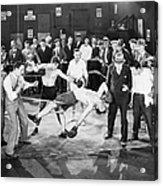 Silent Film Still: Boxing Acrylic Print