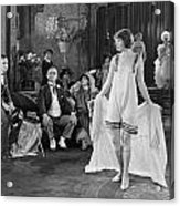 Silent Film Still: Fashion Acrylic Print
