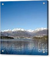 Snow-capped Mountain Acrylic Print