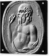 Socrates (470?-399 B.c.) Acrylic Print