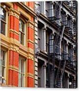Soho New York Acrylic Print