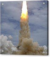Space Shuttle Atlantis Lifts Acrylic Print