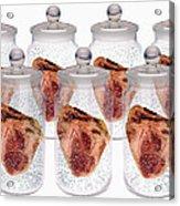 Spare Hearts Acrylic Print by Victor De Schwanberg
