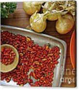 Spicy Still Life Acrylic Print