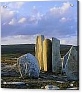 Standing Stones, Blacksod Point, Co Acrylic Print