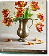 Still Life With Tulips Acrylic Print