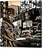 Street Phenomenon 50 Cent Acrylic Print by The DigArtisT