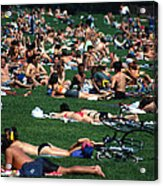 Summer In Central Park Acrylic Print