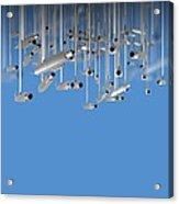 Surveillance, Conceptual Image Acrylic Print by Victor Habbick Visions