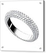 The Beauty Wedding Ring Acrylic Print