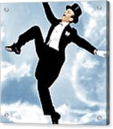 The Belle Of New York, Fred Astaire Acrylic Print by Everett