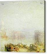 The Dogana And Santa Maria Della Salute Venice Acrylic Print