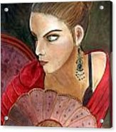 The Flamenco Dancer Acrylic Print