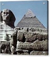 The Great Sphinx Acrylic Print