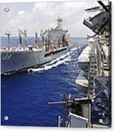 The Military Sealift Command Fleet Acrylic Print