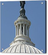 The United States Capitol Building Dome Acrylic Print