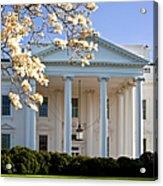 The White House Acrylic Print