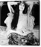 Theda Bara (1885-1955) Acrylic Print by Granger