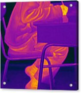 Thermography Acrylic Print