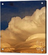 Thunderhead At Sunset Acrylic Print