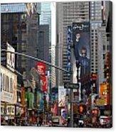 Times Square Acrylic Print
