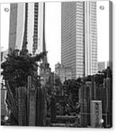 Tokyo Acrylic Print by Bernard Wolff
