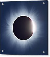 Total Solar Eclipse Acrylic Print by Dr Fred Espenak