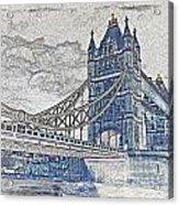 Tower Bridge Art Acrylic Print