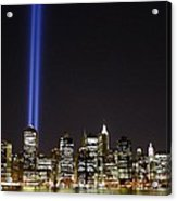 Tribute In Light 2010 Acrylic Print by Christopher Kirby