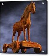 Trojan Horse, Computer Artwork Acrylic Print