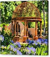 Tuscan Garden Acrylic Print